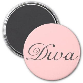 I am a true diva 3 inch round magnet