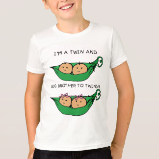 I am a twins and big brother to twins T-Shirt