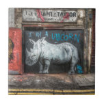 """I Am A Unicorn, Shoreditch Graffiti (London) Ceramic Tile<br><div class=""""desc"""">Probably my favourite piece of street art in London for no other reason than for the message it conveys. Go be who you want to be!</div>"""