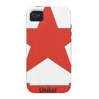I am a Unikat Case-Mate iPhone 4 Cover