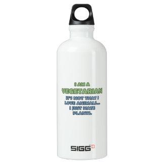 I am a Vegetarian Water Bottle