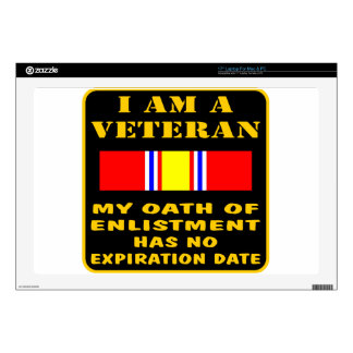 I Am A Veteran My Oath Of Enlistment Has No Expire Skins For Laptops