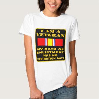 I Am A Veteran My Oath Of Enlistment Has No Expire T-shirt