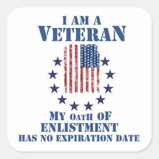 I Am A Veteran Veterans Day Stickers