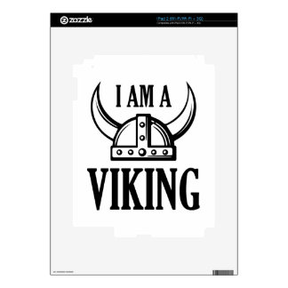I Am A Viking Skins For The iPad 2