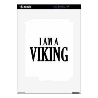 I Am A Viking Skins For iPad 2