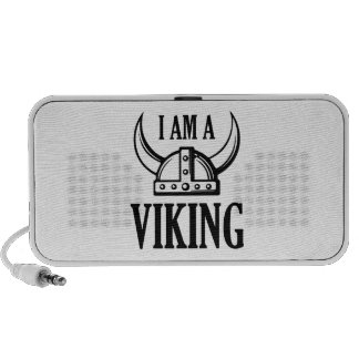 I Am A Viking Notebook Speakers