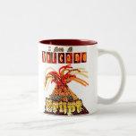 I am a volcano ready to erupt mug