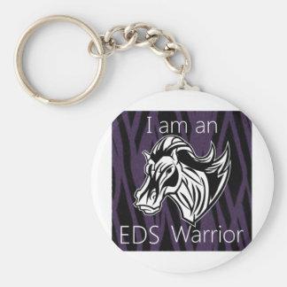 I am a warrior.png keychain