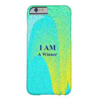 """I AM A WINNER"" iPhone 6, Barely There Barely There iPhone 6 Case"