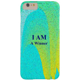 """I AM A WINNER"" iPhone 6 Plus, Barely There Barely There iPhone 6 Plus Case"
