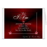 I Am a Woman of Elegance Greeting Cards