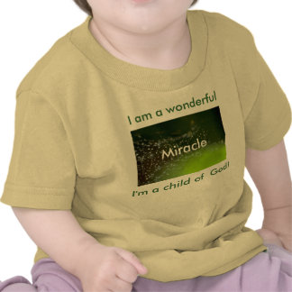 I am a wonderful Miracle Tshirt