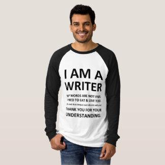 I Am A Writer Tee