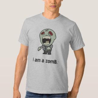 """""""i am a zomB"""" Shirt"""
