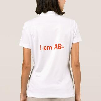I am AB- Polo Shirt