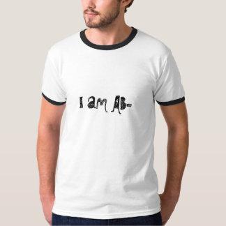 I am AB- Tee Shirt