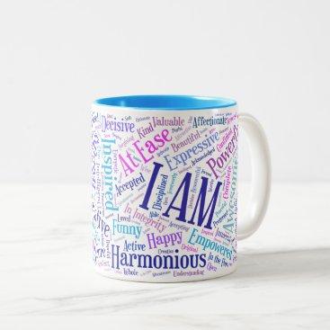 SumaiyaWood I Am Affirmations Mug