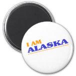 I am Alaska shirts Refrigerator Magnet