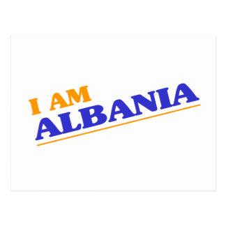 I am Albania Postcard