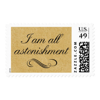 I Am All Astonishment Stamps