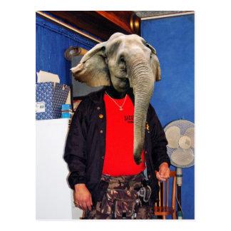 I am all ears postcard