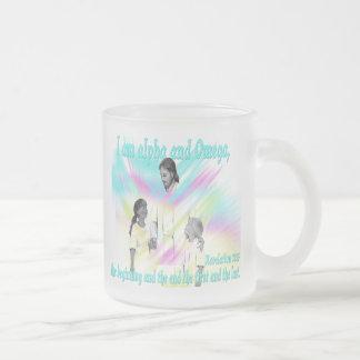 I am alpha and Omega Coffee Mugs
