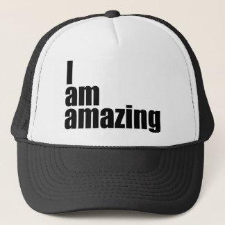 I am amazing trucker hat