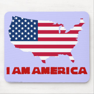 I am America (red state) Mouse Pad