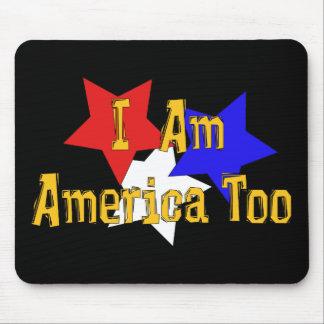 I Am America Too Mouse Pad
