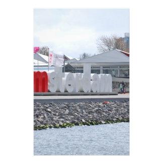 I am Amsterdam Sign, Netherlands Flyer