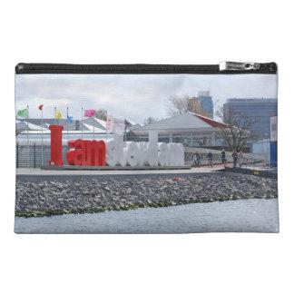 I am Amsterdam Sign, Netherlands Travel Accessories Bag