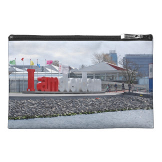 I am Amsterdam Sign, Netherlands Travel Accessory Bag