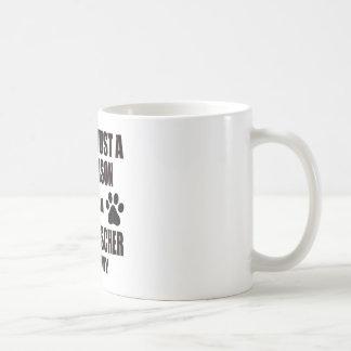 I am an Affenpinscher Mommy Classic White Coffee Mug