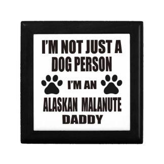 I am an Alaskan Malamute Daddy Jewelry Box