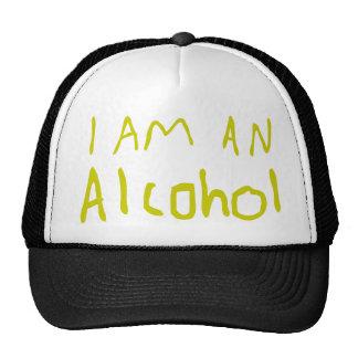 I Am an Alcohol Trucker Hats