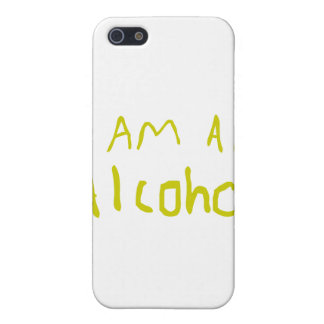 I Am an Alcohol Covers For iPhone 5