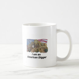 I am an American Digger Coffee Mug