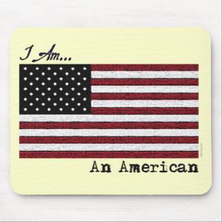 I AM An American Mousepad