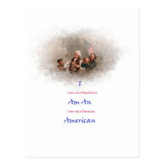 I am an American Postcard