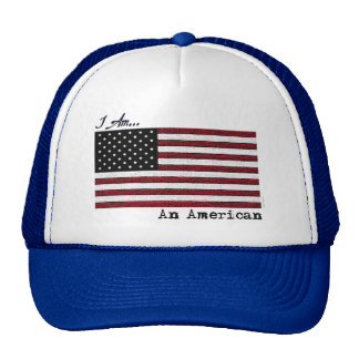 I AM An American Trucker Hat