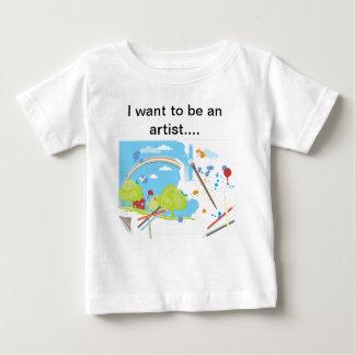 I am an artist baby T-Shirt