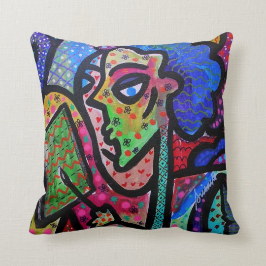 I am an Artist by Prisarts Throw Pillow