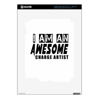 I am an Awesome Charge artist. Skins For iPad 3