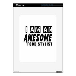 I am an Awesome FOOD STYLIST. iPad Skin