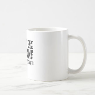 I AM AN AWESOME WEBSITE CONTENT WRITER. CLASSIC WHITE COFFEE MUG