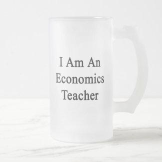 I Am An Economics Teacher 16 Oz Frosted Glass Beer Mug