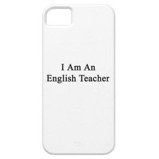I Am An English Teacher iPhone 5 Covers