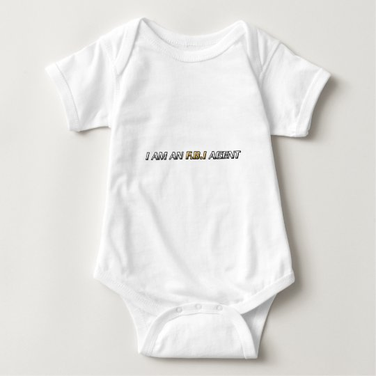 I am an FBI agent Baby Bodysuit