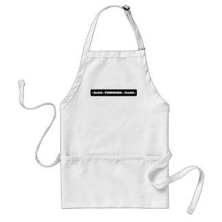 I am an innovative bold thinker 2 adult apron